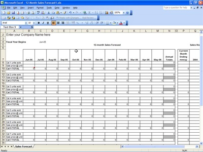 sales forecasting excel template koni polycode co
