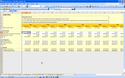 cash flow tracker cash flow tracker statement