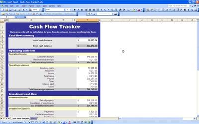 Cash Flow Chart