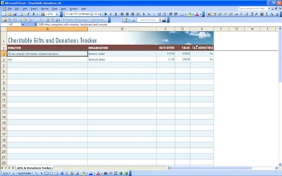 Donation Receipt Form Charter Foundation Tax I D Number Donation