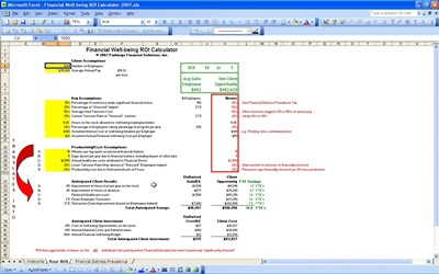 Simple Roi Template Excel