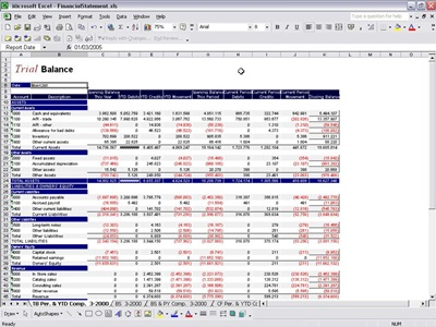 Free Excel Template Balance Sheet Ine Statement