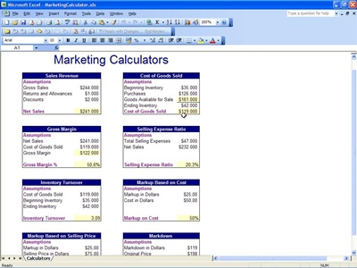 Marketing Calculator