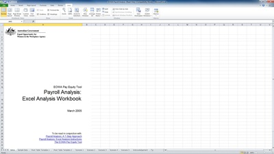 payroll analysis template
