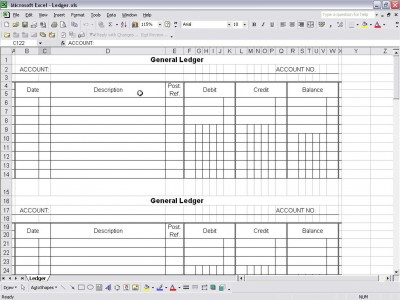 Keeping Track Of Expenses Can Quickly Be Simplified When You Use An Excel  Accounting Template Such As This General Ledger ...  General Ledger Template