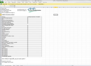 Household Expenses Template