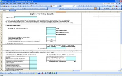 Tax Savings Calculator