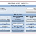 Credit Card Payment Calculator