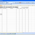 Account Payable Template