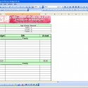 Christmas shopping list excel templates