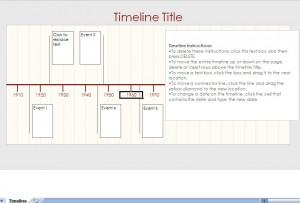 Excel Timeline