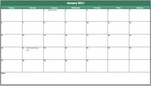 free 2013 holiday calendar