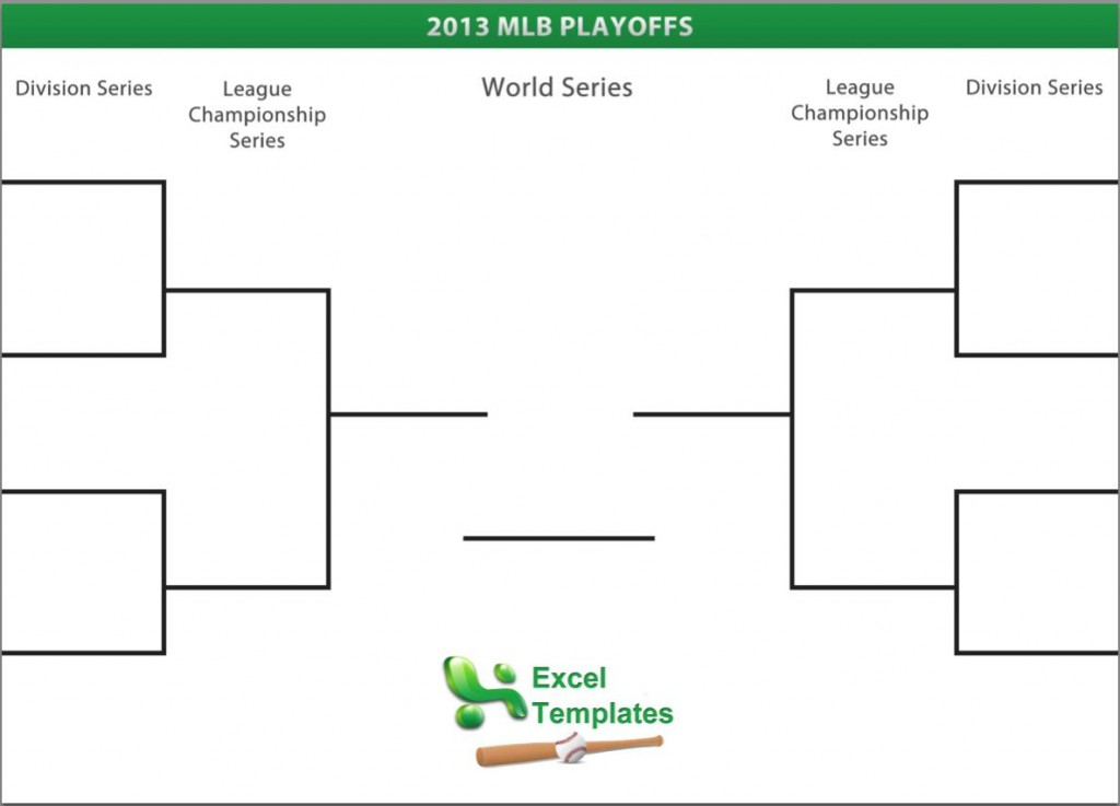 photo about Nba Playoff Printable Bracket identified as MLB Playoff Bracket Printable MLB Playoff Bracket