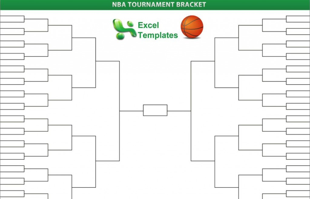 nba playoffs bracket template
