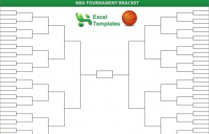 Nba playoffs bracket for Knockout draw sheet template