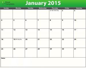 free printable pdf 2015 calendar