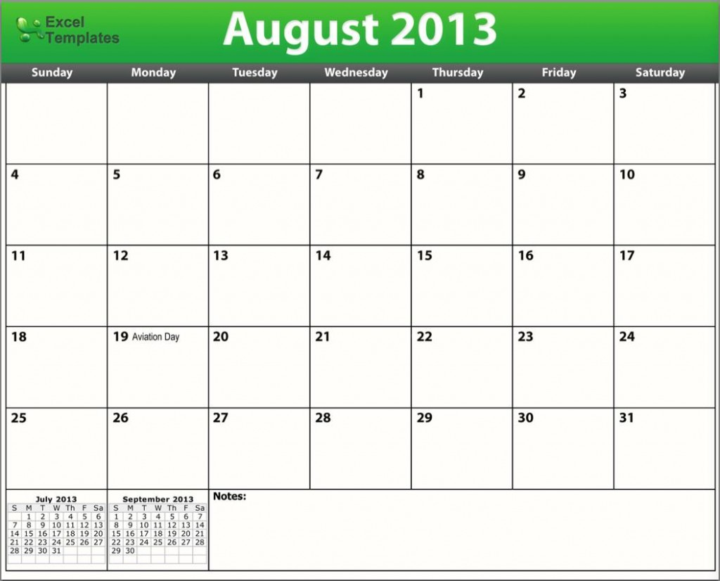Printable August Calendar 2013 | Search Results | Calendar 2015