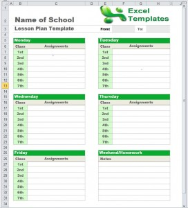 CaptureExcelLessonPlan 272x300 Special Education Lesson Plan Template