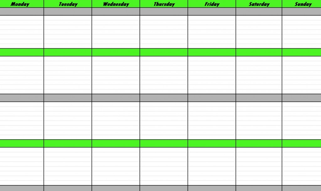 1024 x 610 jpeg 97kB Weekly Schedule Template Weekly Schedule
