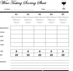 Hosting a wine tasting party (with free printables! ) | jenna sue.