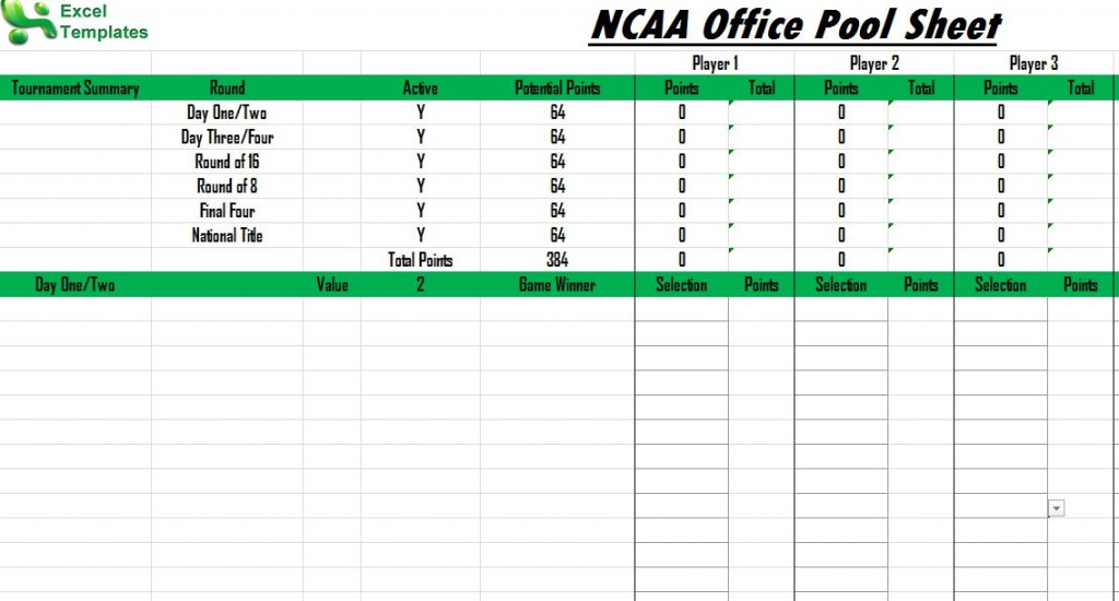 ncaa office pool worksheet excel 1024x550 NCAA Office Pool