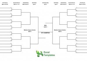 NIT Tournament from ExcelTemplates.net