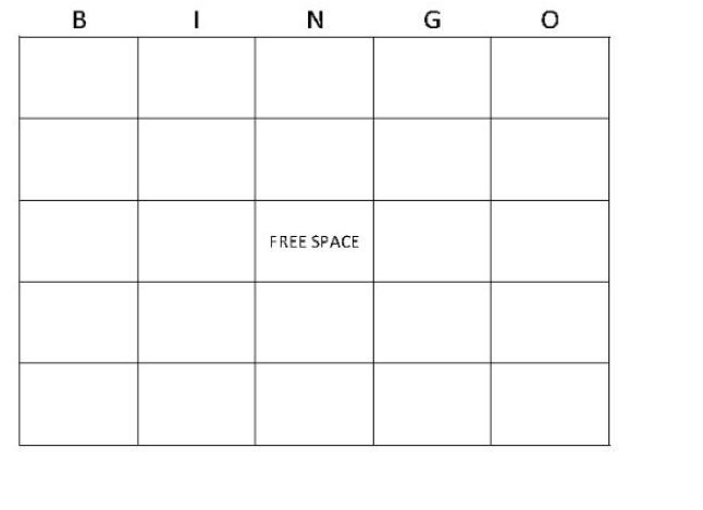 Bingo Card Generator screenshot