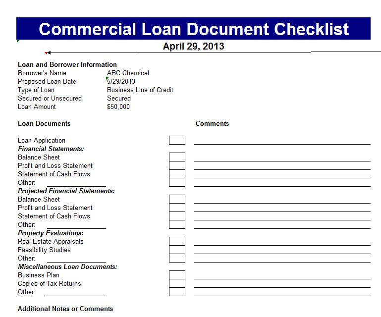 Commercial Loan Calculator screenshot