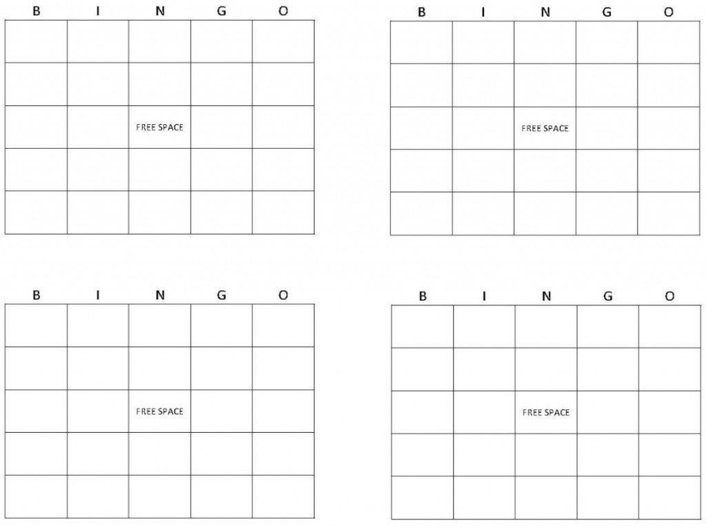 Screenshot of Printable Bingo Cards