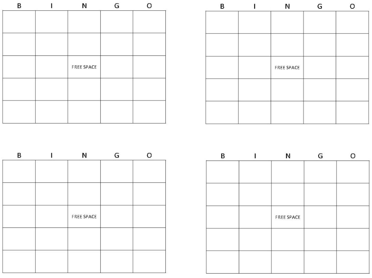 Printable Bingo Cards  Get Bingo Cards Here Pertaining To Blank Bingo Card Template Microsoft Word