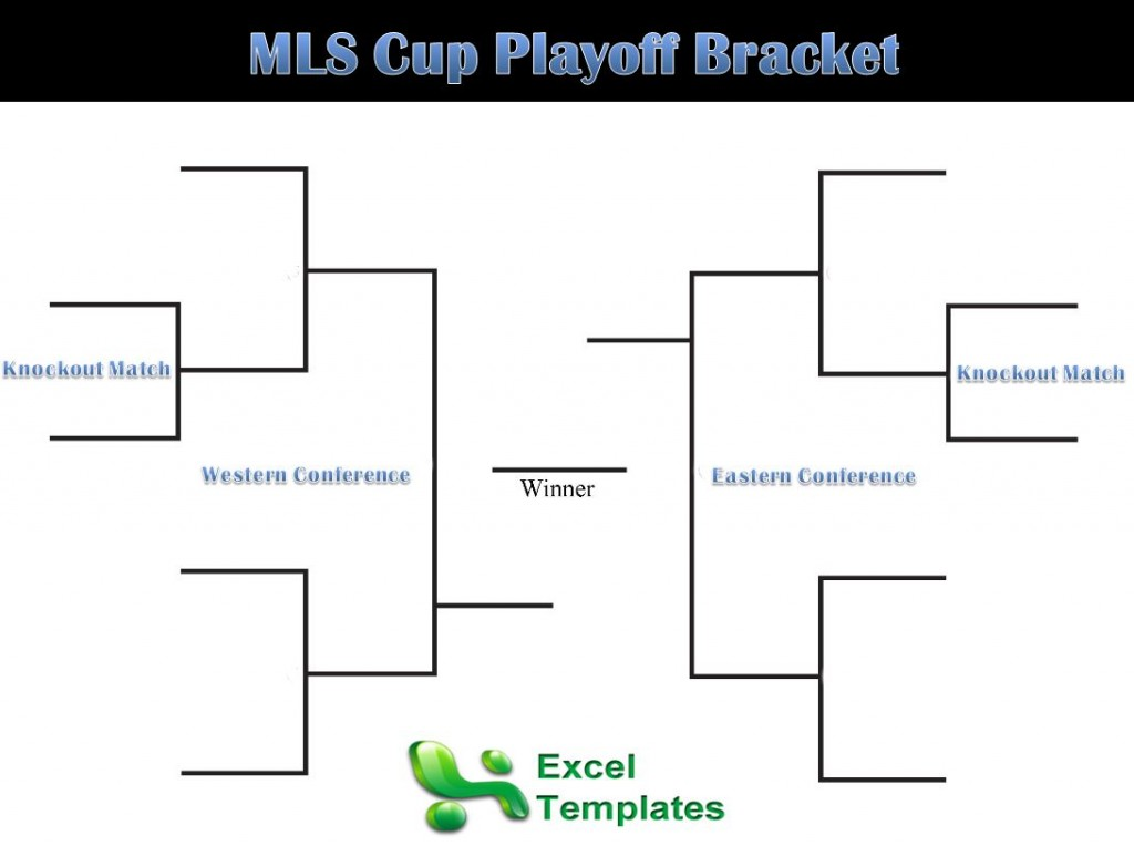 MLS Playoffs Bracket sheet