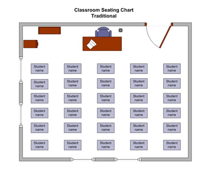 Clroom Seating Chart
