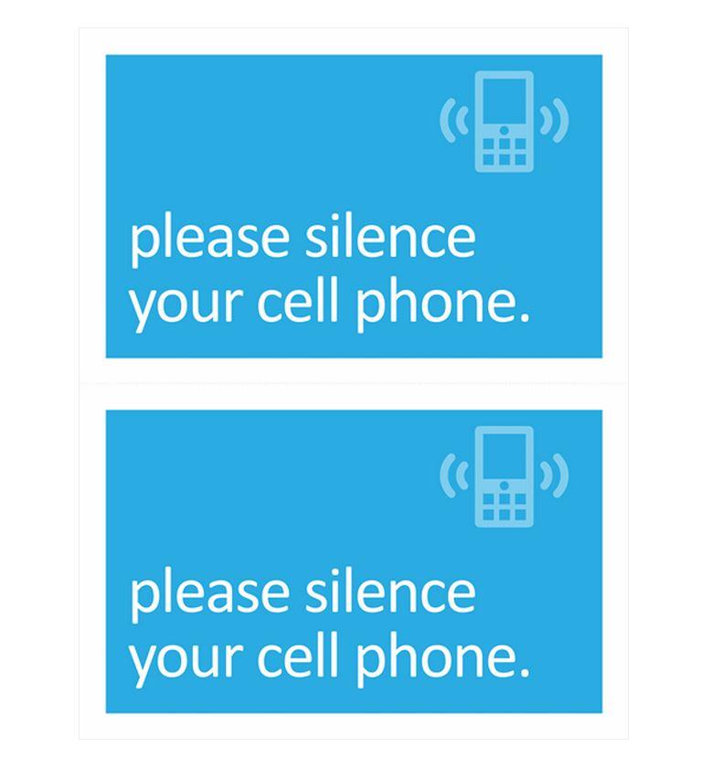 No Cell Phone Template screenshot