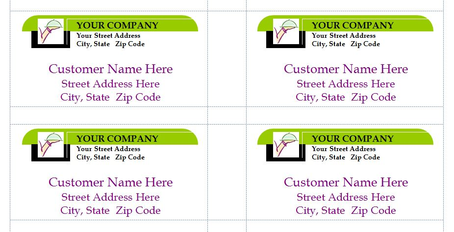 Free Business Mailing Labels