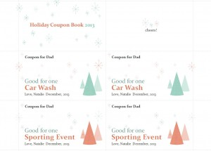 Free Holiday Gift Coupons