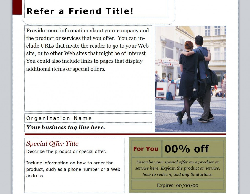 Free Refer a Friend Coupon