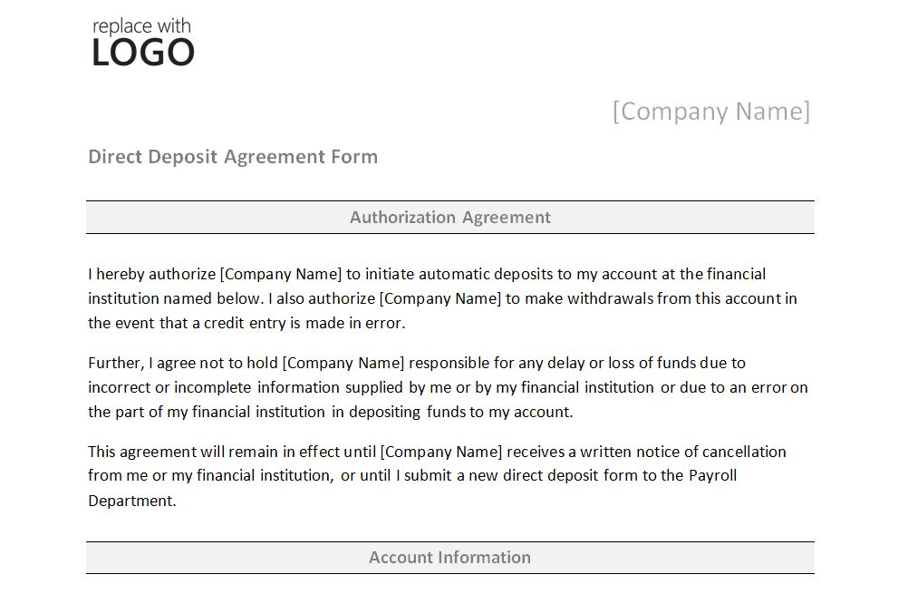 Doc647873 New Customer Account Form Template 40 Free Credit – Account Form Template