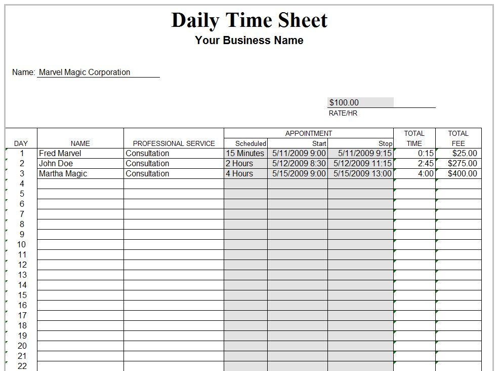weekly employee timesheet template new calendar template site