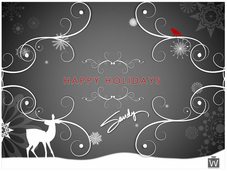Holiday E Card Template