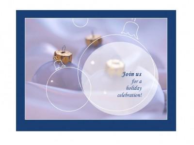 Holiday Party Invitation Templates