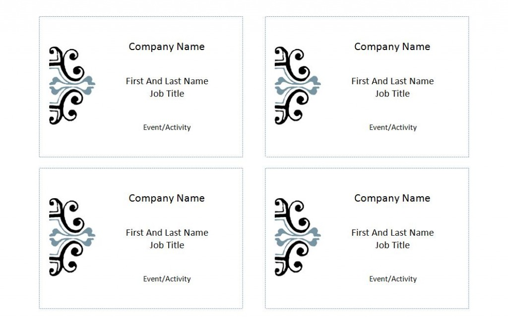 Avery label 5395 template for Avery name plate template