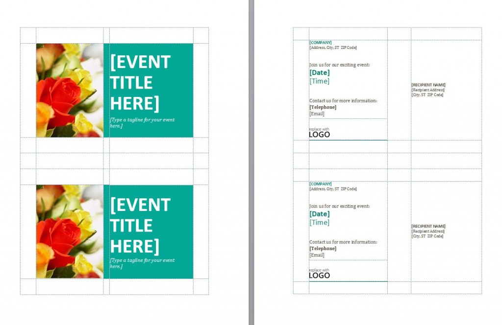 Free Avery Postcard Template