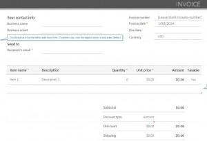 Free Paypal Invoicing Template