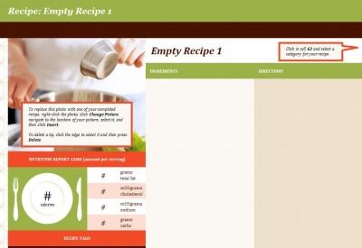 Free Recipe Template
