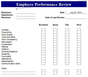 Free Annual Performance Review