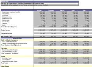 Free Consolidation Report Template