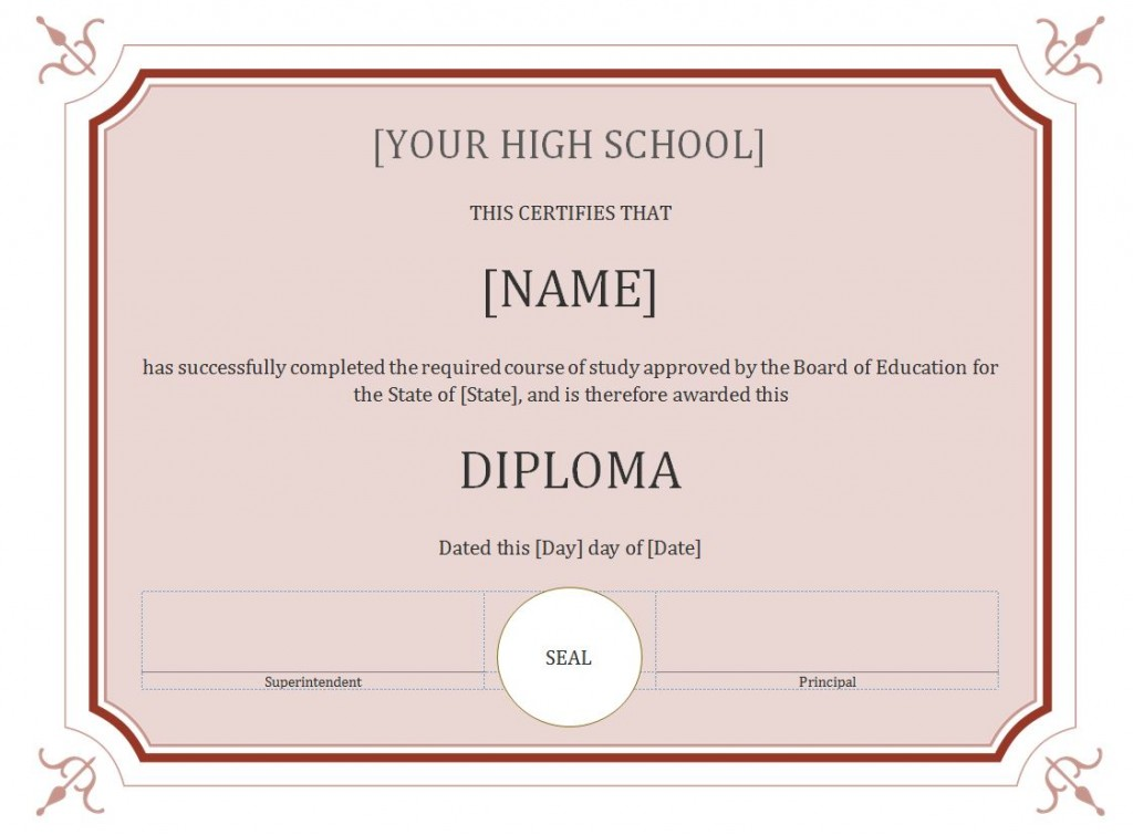 School report template free