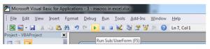 Excel Macros Tutorial