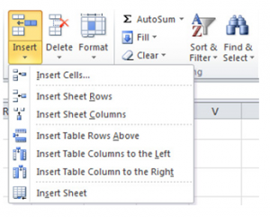 Excel-Row-1