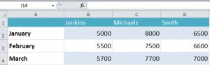 Format Excel Data